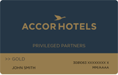 Accor Privileged Partners Gold