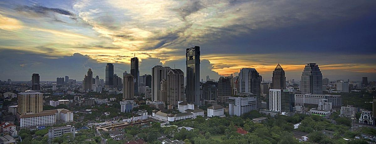 Tajlandia, Azja
