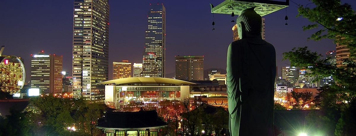 Corea del sur, Asia