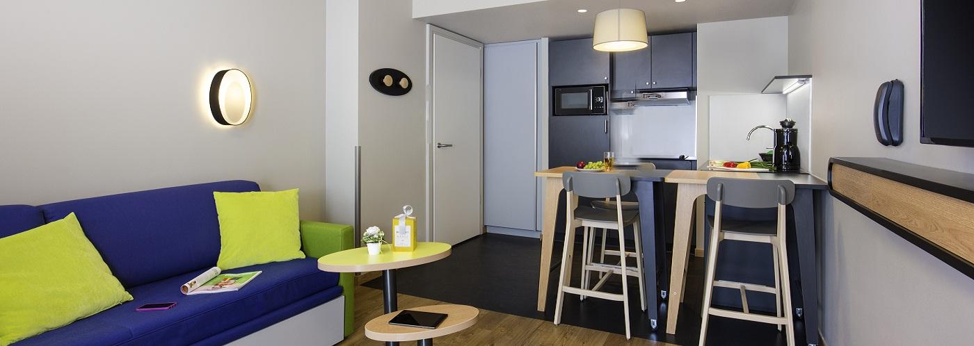 Adagio access functional aparthotels in europe accor for Adagio accor hotel