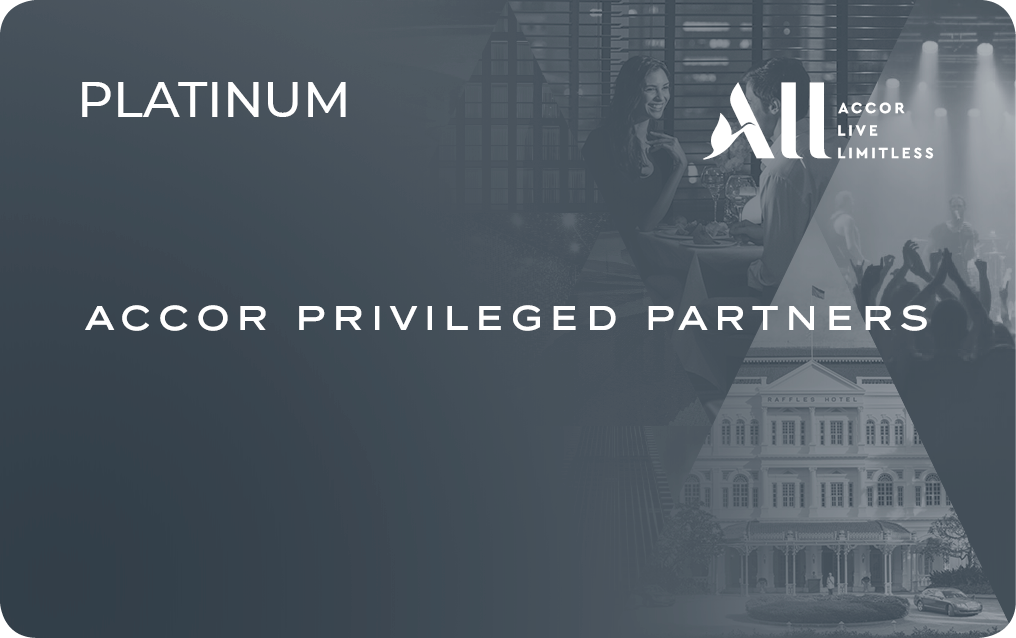 Carte Accor Platinum.Accorhotels Privileged Partners The Card That Matches Your