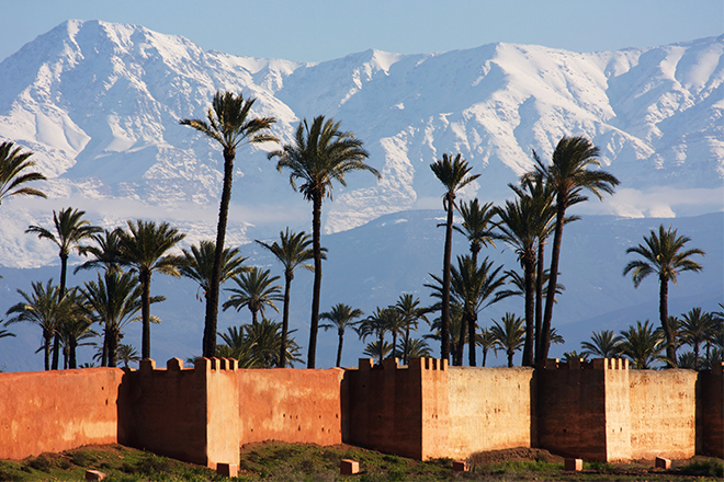 Marrakech culture sunshine
