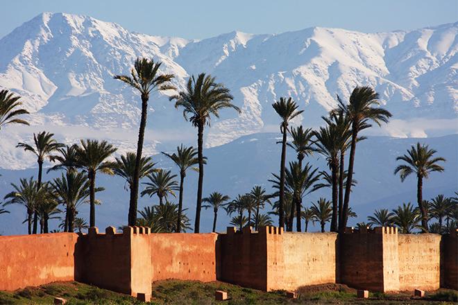 Marrakech Kultur Sonne