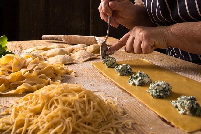 Cours de cuisine pâtes