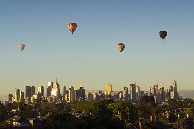 Melbourne sky view