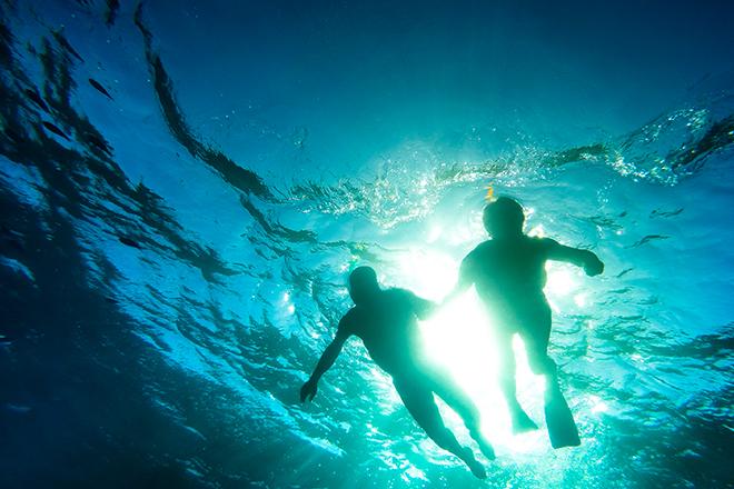 plongée sous-marine en couple
