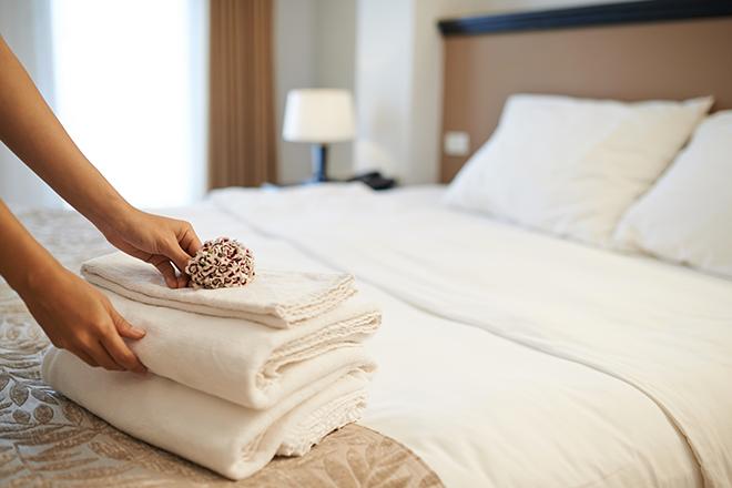 Woher weiß man, dass das Hotel hochwertige Bettwäsche wählt?