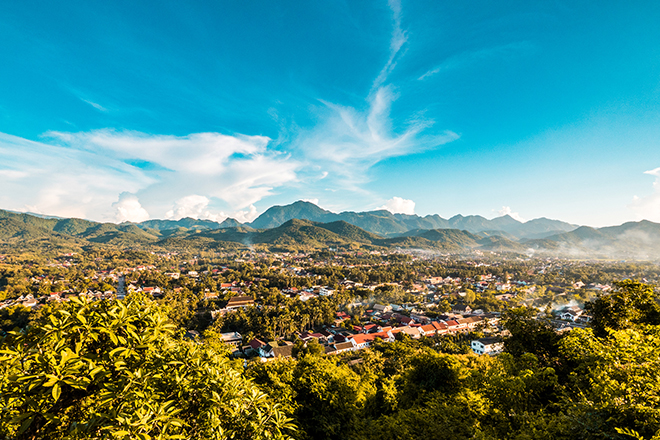 Tapetenwechsel Laos