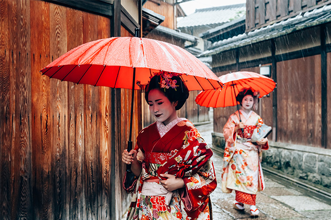 traditional Japan