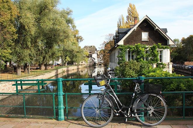 Strasburg — mistrz Francji w jeździe na rowerze