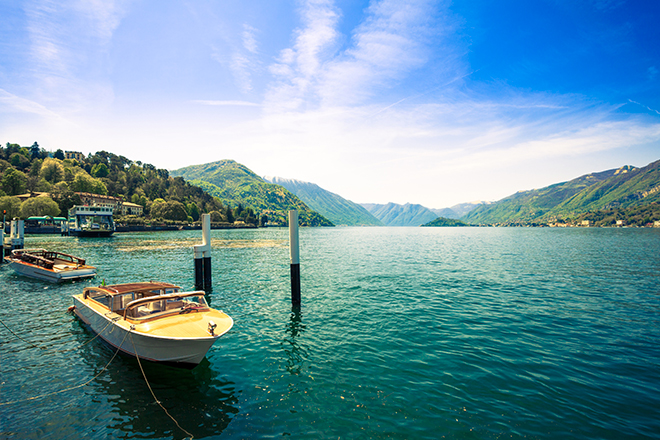 Lakeside in Italy
