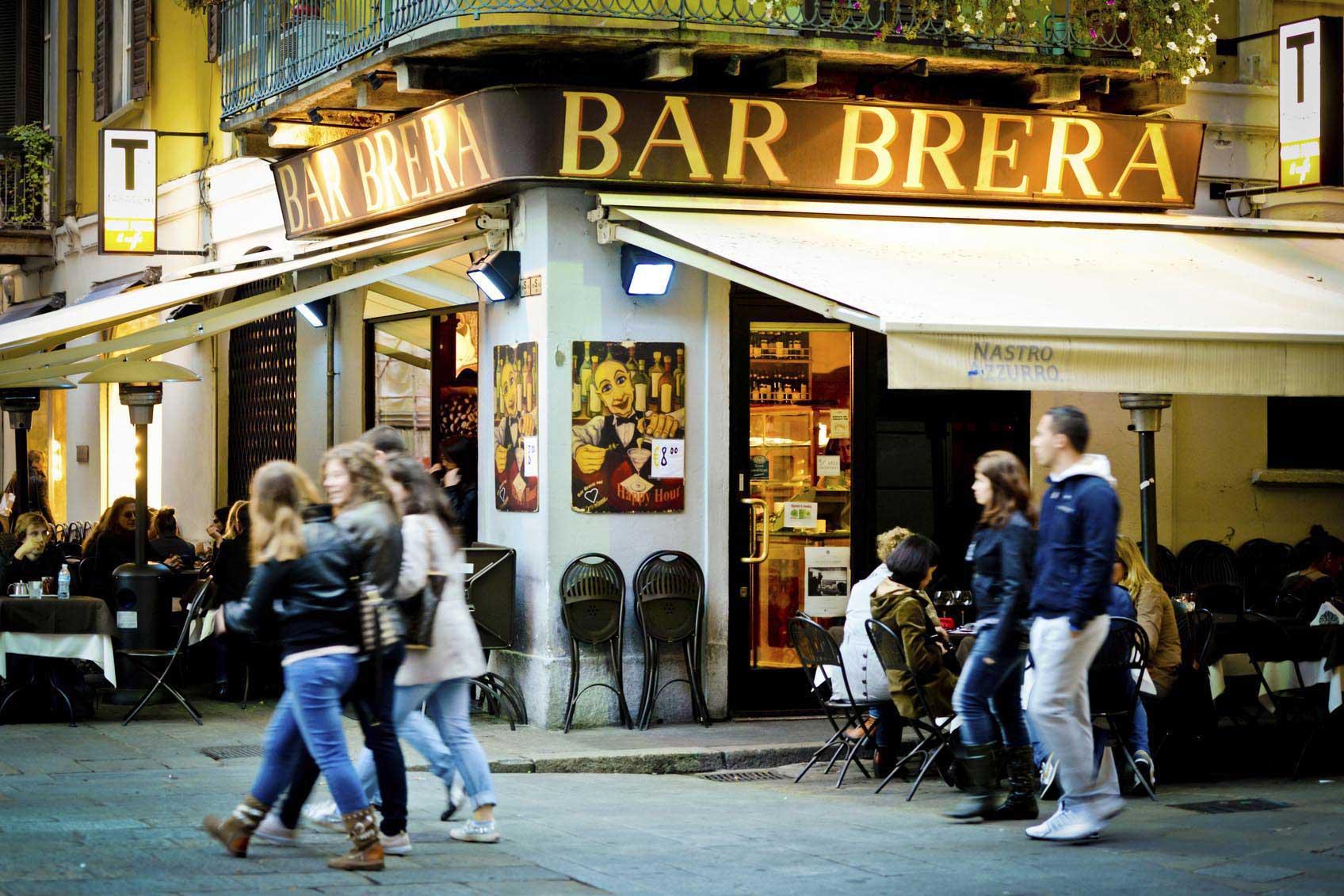 Les bars de la vieilles villes