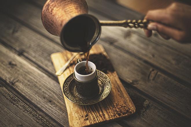 Kaffes Istanbul Türkei