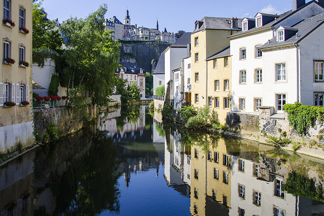 luxembourg architektury