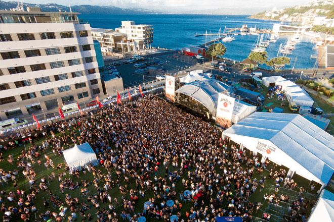 Homegrown Music Festival Wellington
