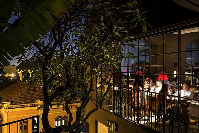 A cena sulla baia di Guanabara a Rio