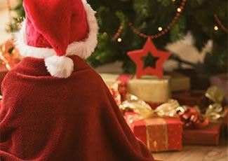 Den Weihnachtsmann treffen