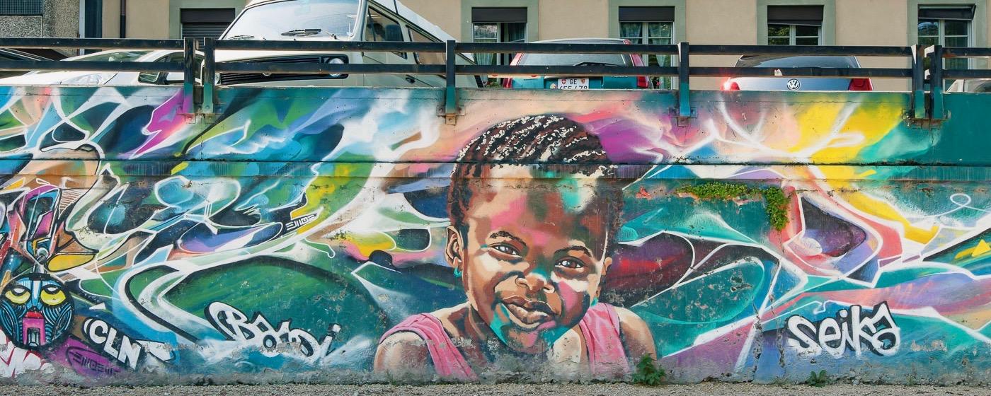 Graffitis et street art à Genève