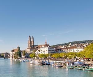 Stracciatella and Lemon Sorbet in Zurich