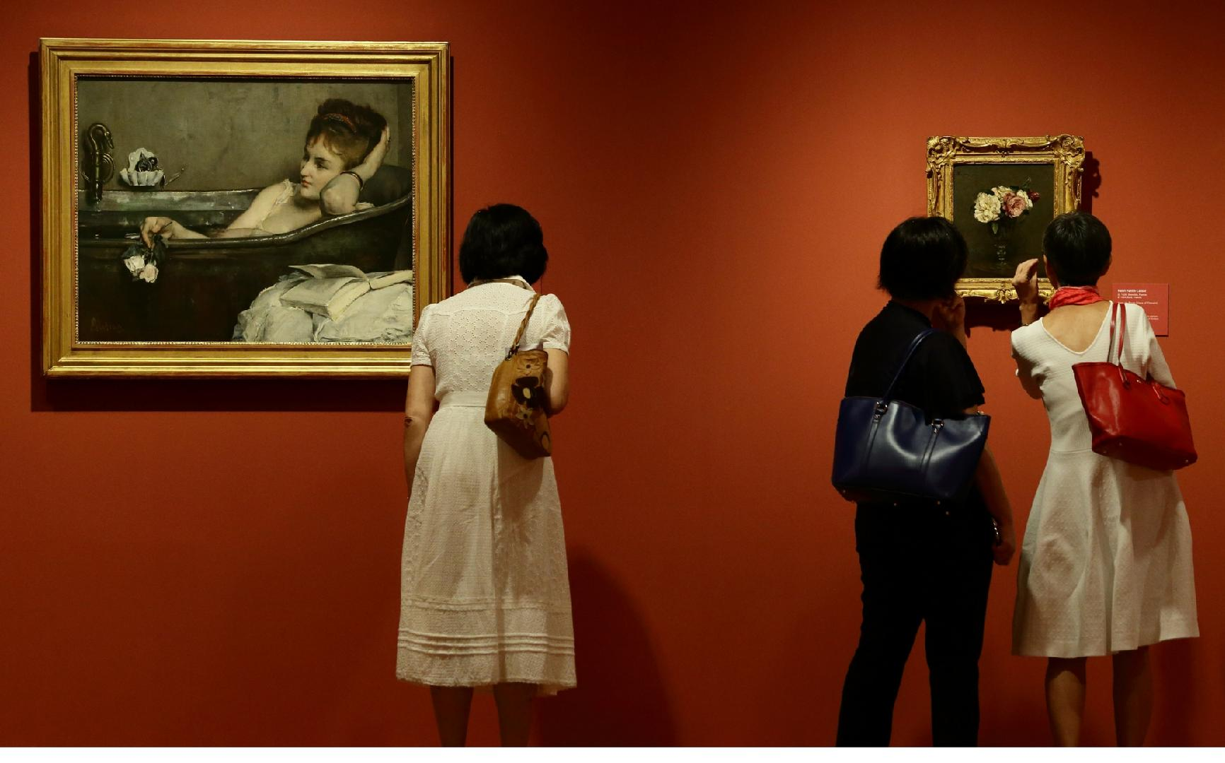 SINGAPORE - CENTURY OF LIGHT: RARE MASTERPIECES FROM MONET. RENOIR