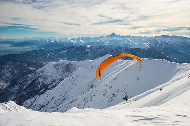 À vous le parapente à l'Alpe d'Huez !