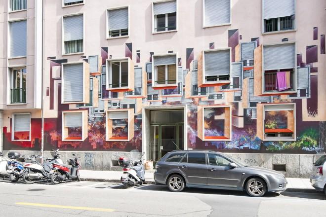 Graffitis in Genf