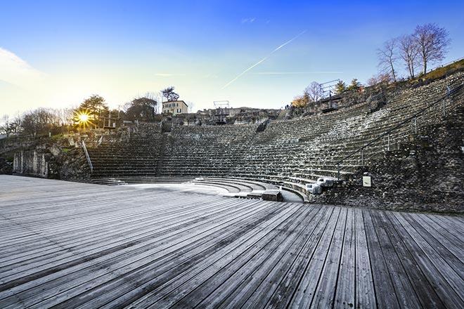 gallisch-römischen Theater