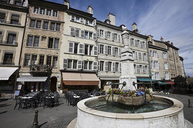 Platz Bourg du Four