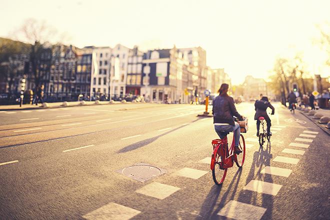 Tour d'Amsterdam à velo