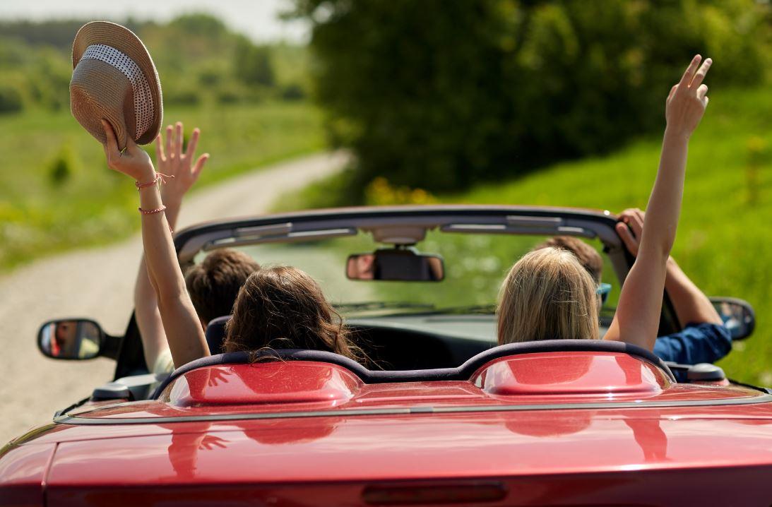 commandements road trip