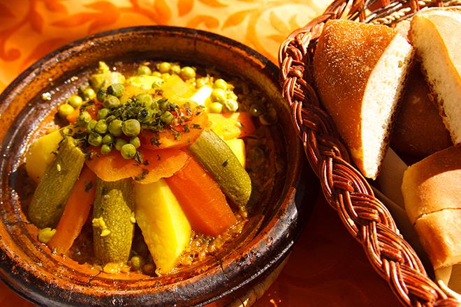 Marrakesch kulinarisches Djemaa el-Fna Platz