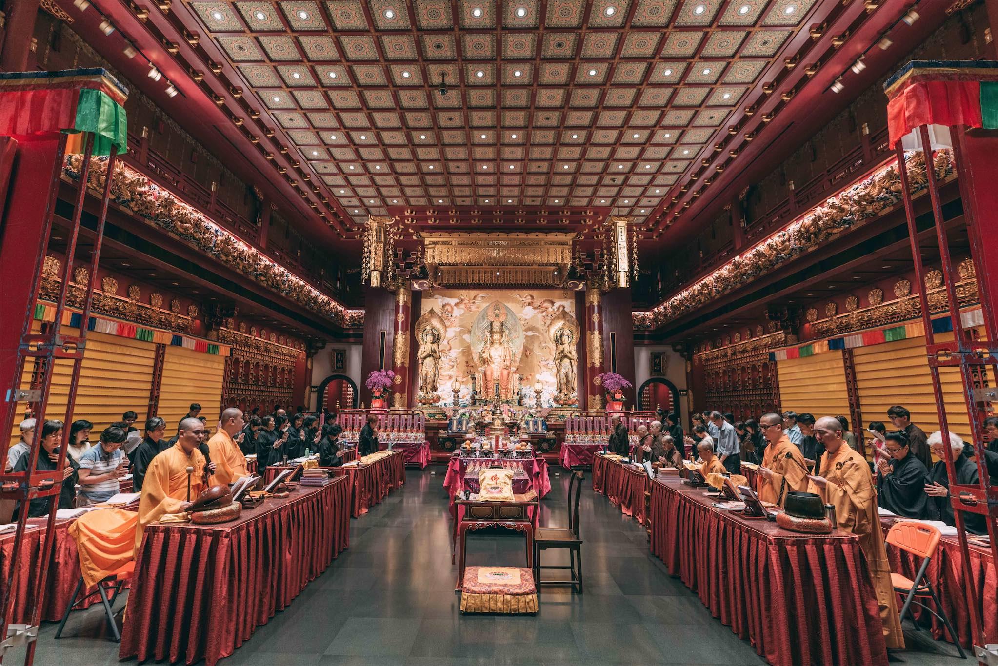 Buddha Relic Temple, Chinatown