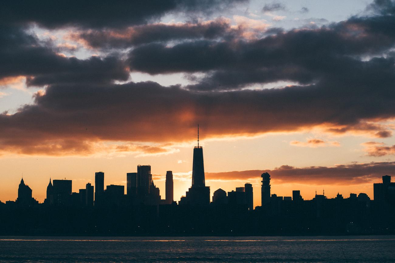 sunset brooklyn photo new york arnaud montagard