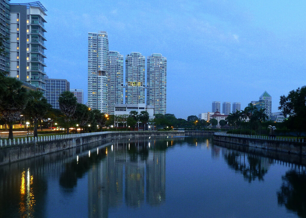 A stunning morning view of the Kallang River. Source: Leong Him Woh
