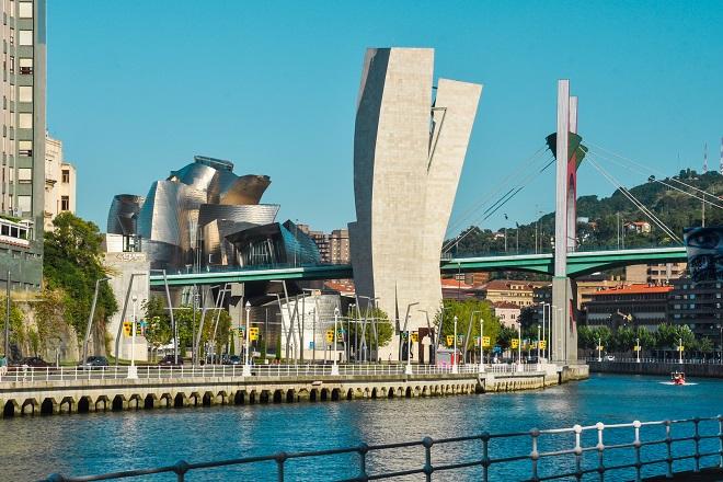 Museo Guggenheim en Bilbao