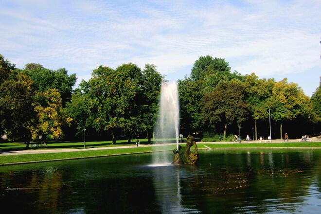 Der Hofgarten in Düsseldorf