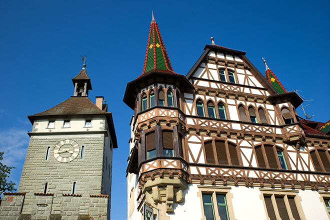 Die Altstadt von Konstanz