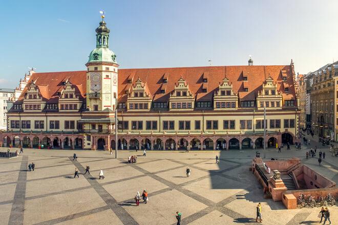 Das Alte Rathaus in Leipzig