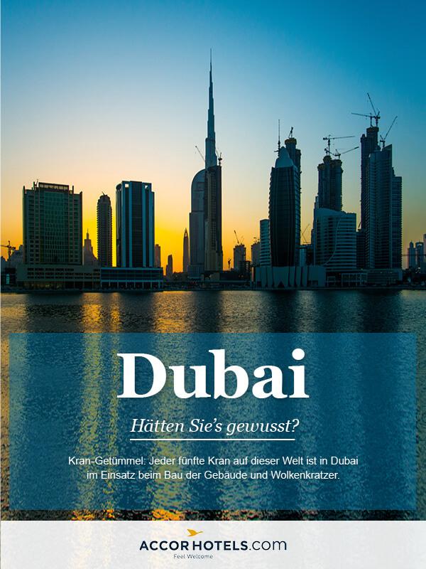 Infografik AccorHotels Dubai