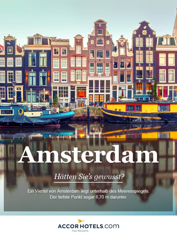 Infografik AccorHotels Amsterdam