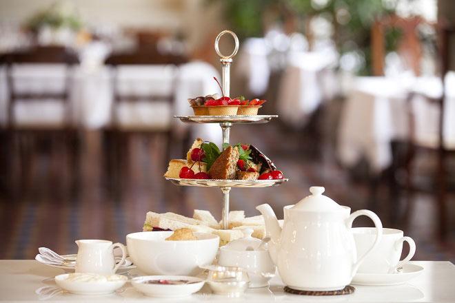 Cream Tea, Tè delle cinque e High Tea