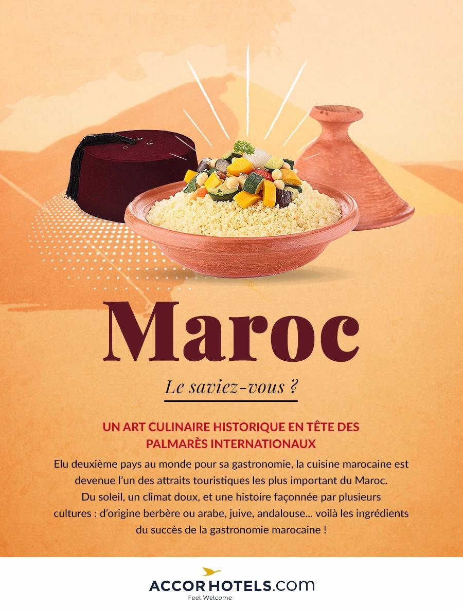 La Cuisine Au Maroc Un Art Culinaire Le Magazine Accorhotels