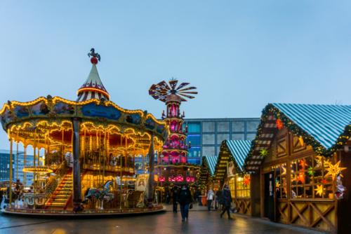 Weihnachtsmärkte in Berlin am Alexanderplatz
