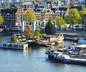 A Tale of Three Cities: Amsterdam
