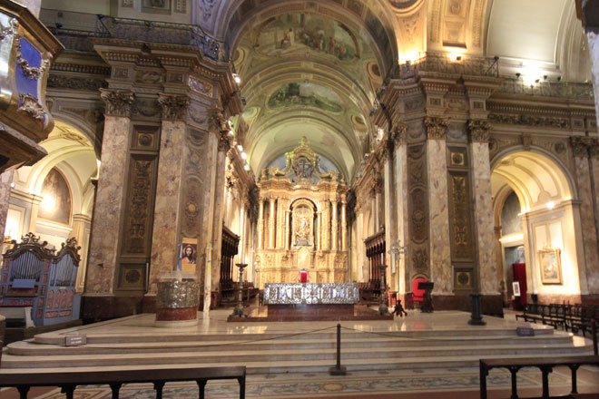 Interior da Arquidiocese de Buenos Aires