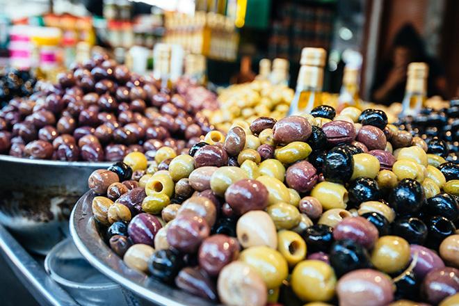 Olives du marché