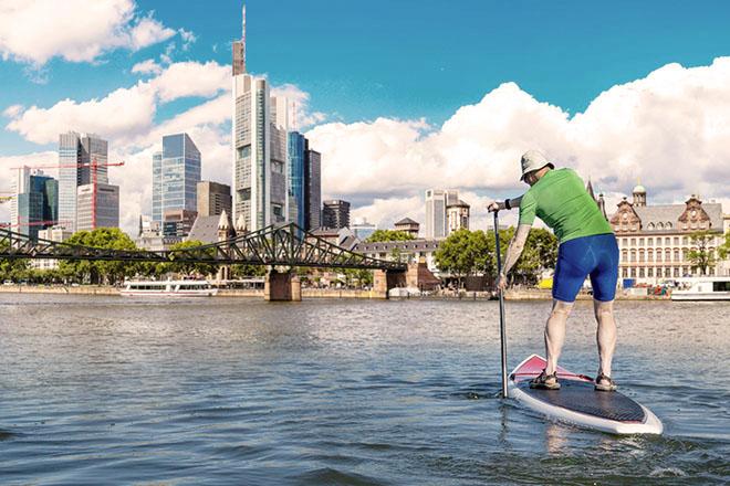 Stand-Up-Paddling Frankfurt
