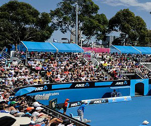 The Australian Open returns to Melbourne