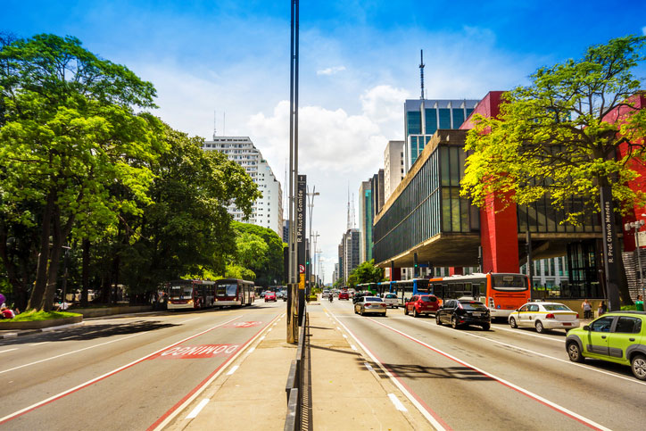 MASP, na Avenida Paulista (Getty Images)