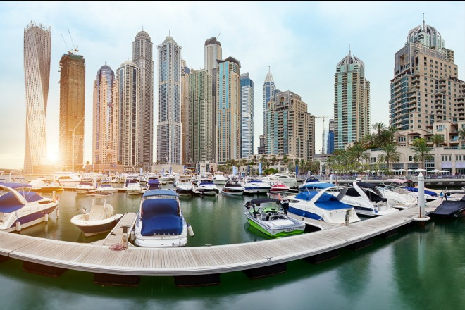 Dubái Marina, el corazón de Dubái